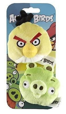 Angry Birds Pack of 2 BEAN BAGS - NEW